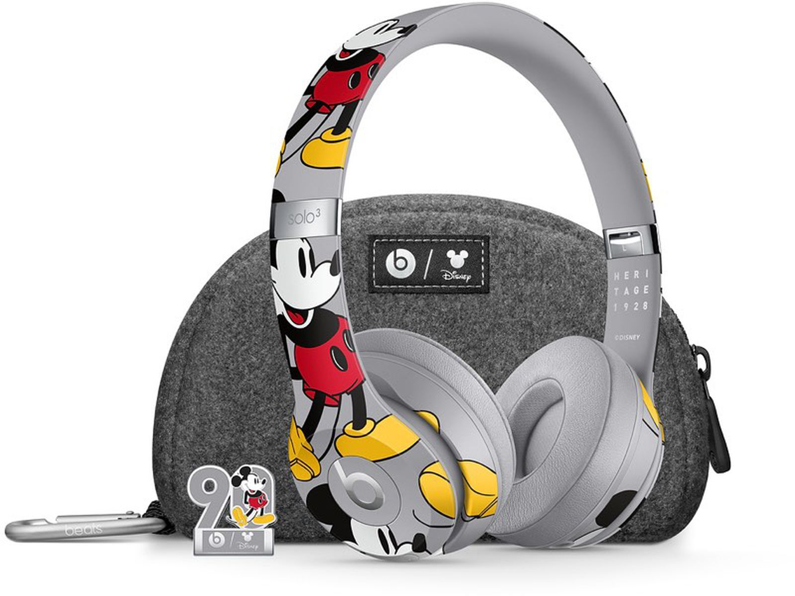 Apple Debuts Limited Edition Mickey Mouse Beats Solo 3 Wireless Headphones Created In Collaboration With Disney Macrumors