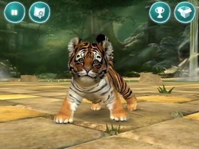 kinectimals tiger
