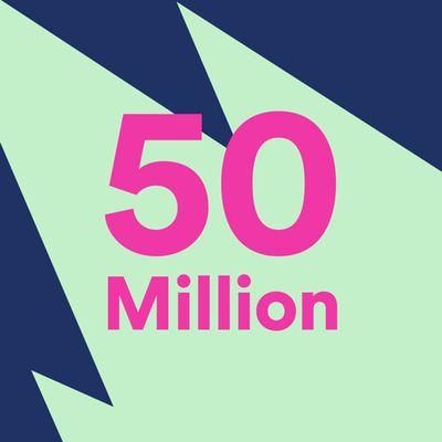 spotify50million
