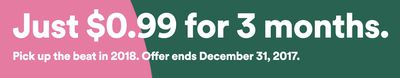spotify holiday offer