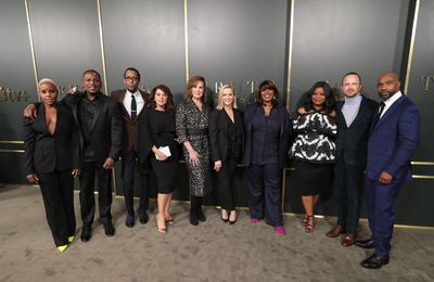 Apple Truth Be Told Premiere The Cast And The Executive Producers 111119