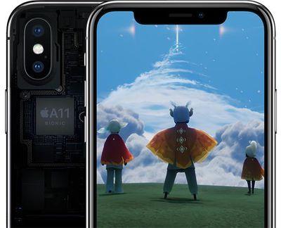 a11 bionic iphone x