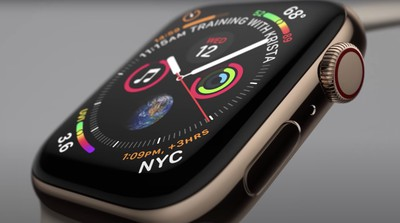 apple watch close up
