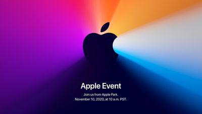 November apple event