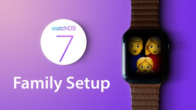 watchOS7 tips family setup