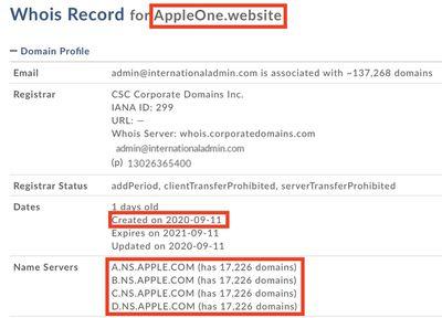 appleone website domain