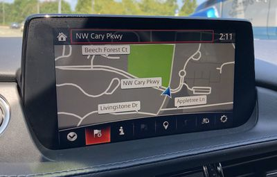 mazda connect map