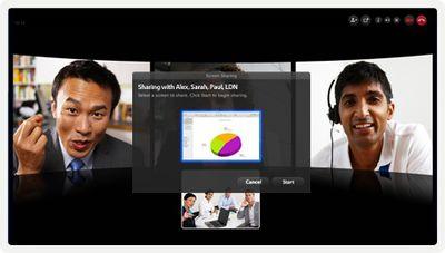 skype 5 2 group screen share