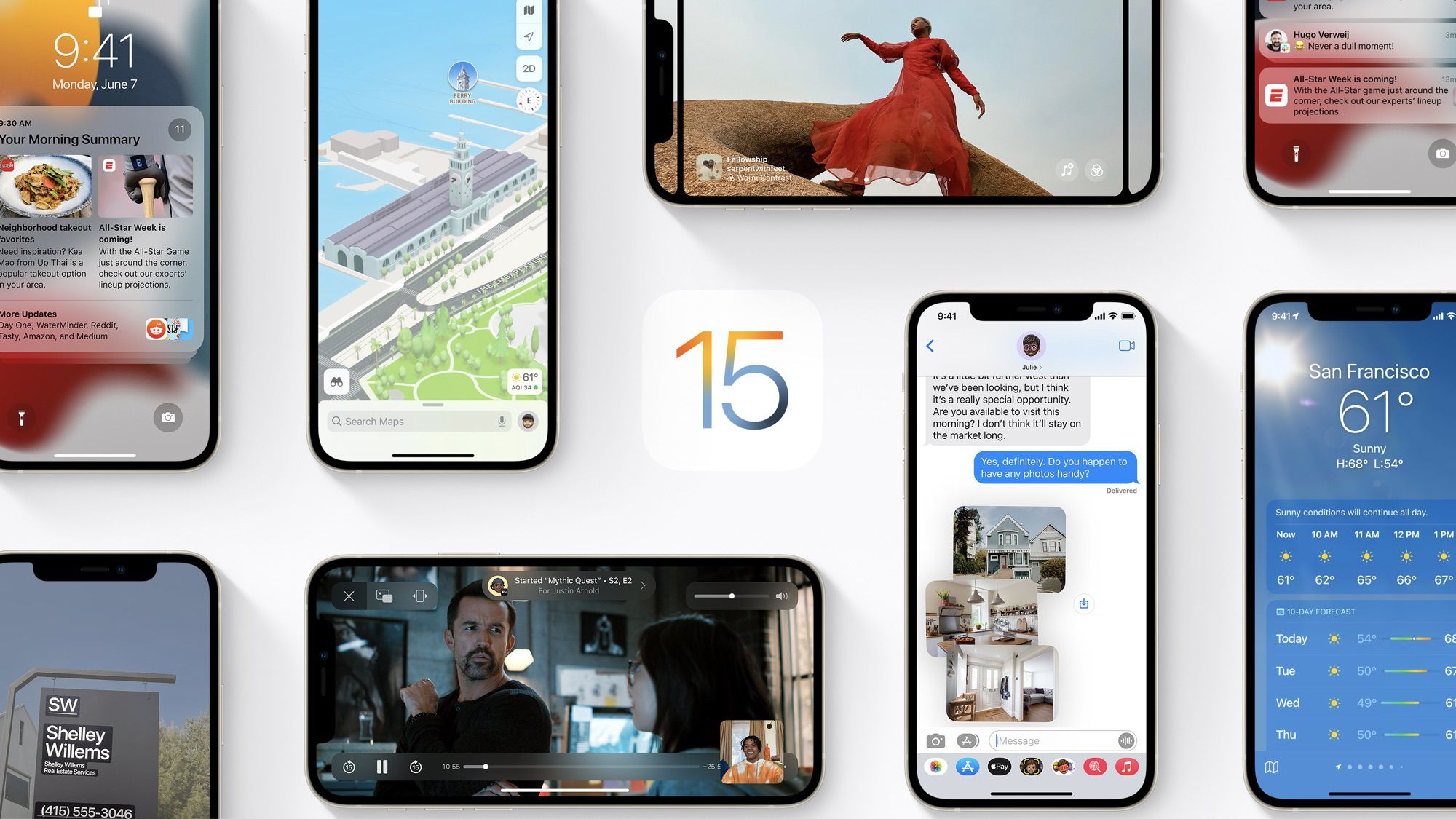 iOS 15 Compatible With All iPhones That Run iOS 14 - MacRumors