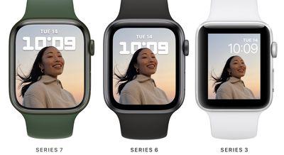 apple watch series 7 display comparison