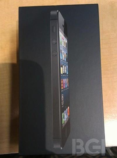 iphone 5 unbox