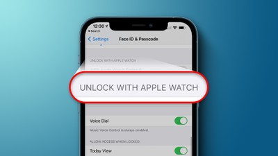 Unlock With Apple Watch Feature