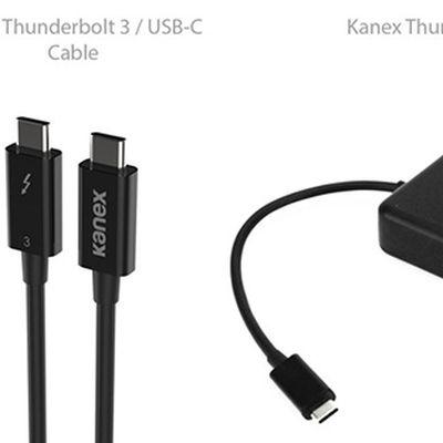 kanex thunderbolt 3