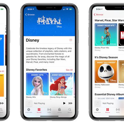 disney apple music