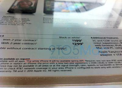 110433 white iphone 4 spring signage 500