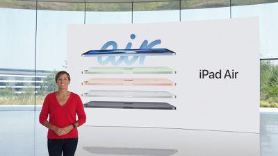 apple event ipad air steve jobs theater