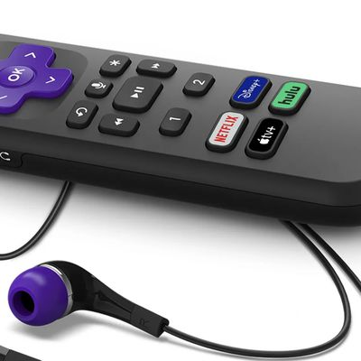 roku remote apple tv button