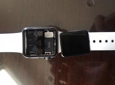 apple watch detached