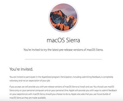 Sierra seed program