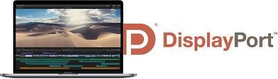 macbook pro displayport 2 0