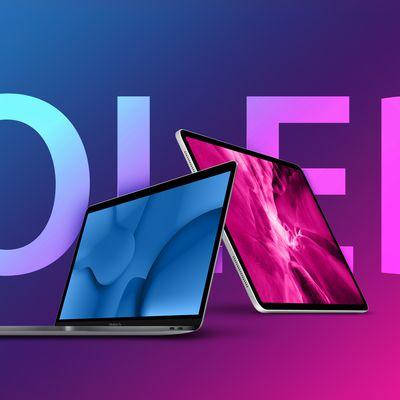 OLED iPad Pro and MacBook Pro