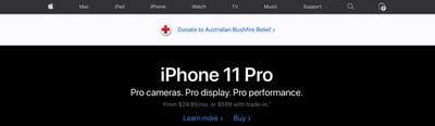 australian bushfire relief banner