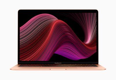 Apple new macbook air wallpaper screen 03182020