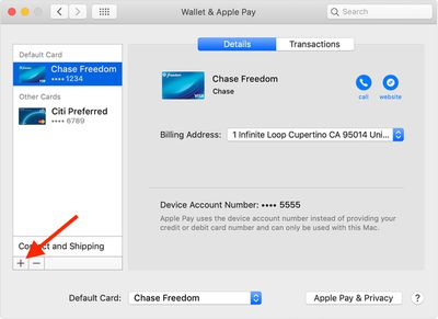 macos wallet apple pay preferences pane