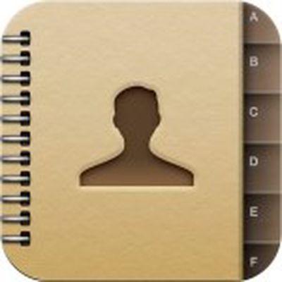 ios address book icon
