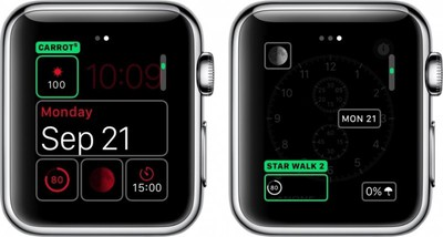 how to third party complications watchos 2