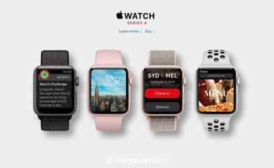 apple watch series 4 concept