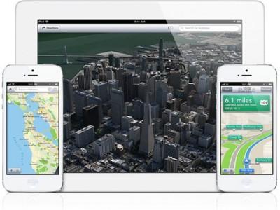 ios 6 iphone ipad maps