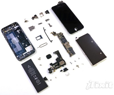 iphone 5 teardown complete
