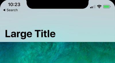 iphone x status bar 3