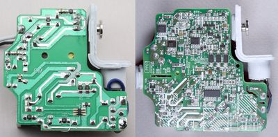 Counterfeit MacBook charger comparison