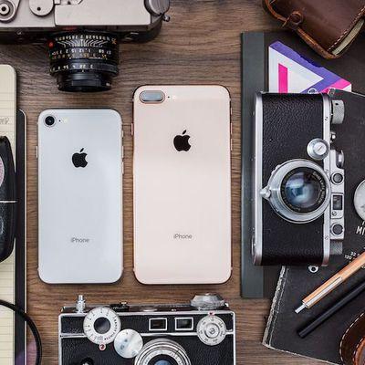 iPhone 8 and 8 plus verge