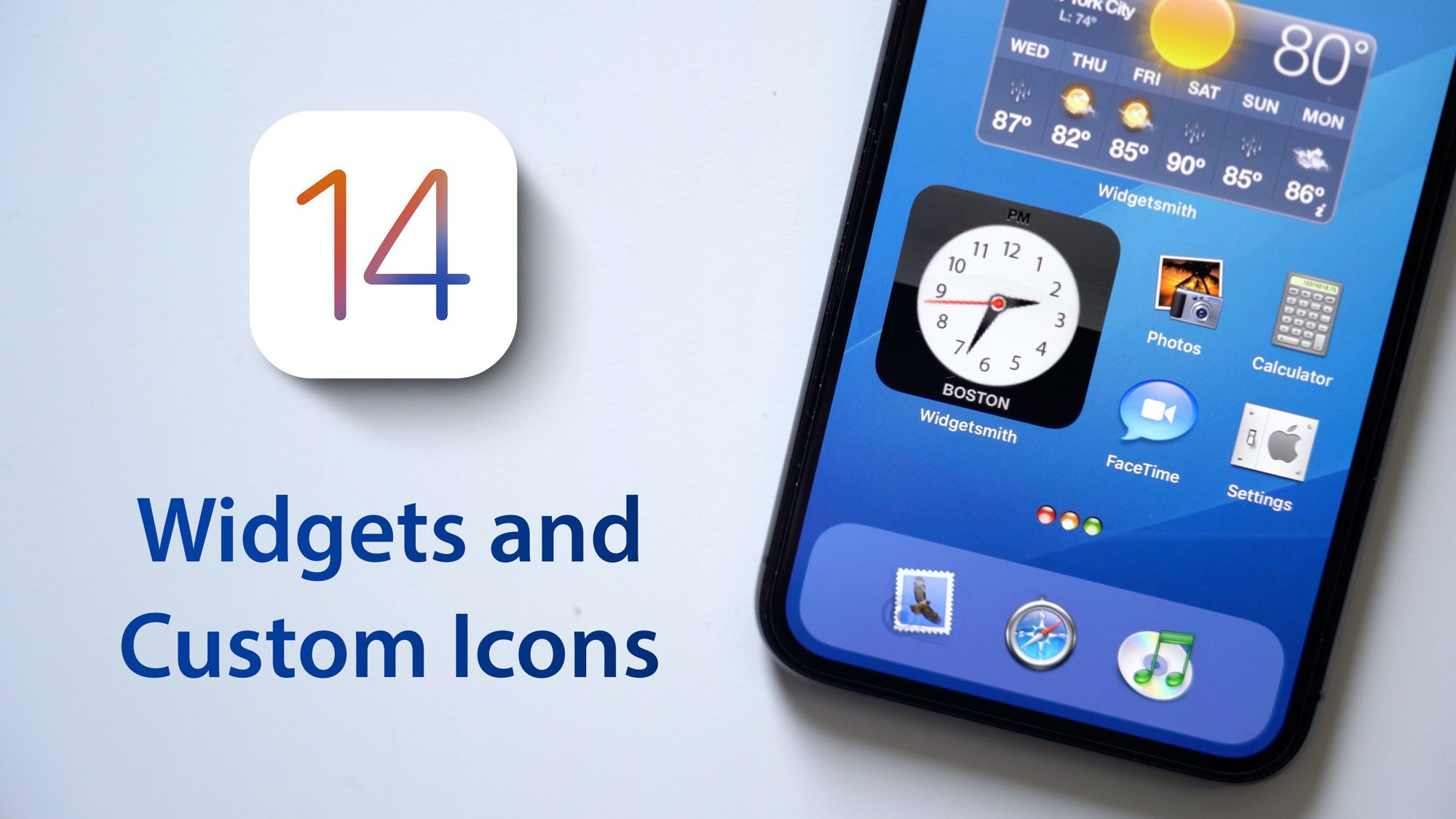 photo of Hands-On With iOS 14 Widgets, Custom Icons, and Home Screen Setup image