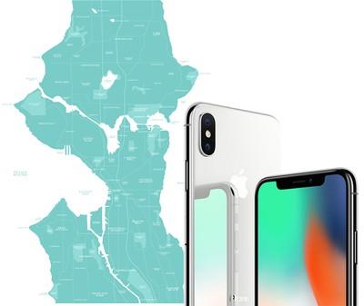 seattle iphone x