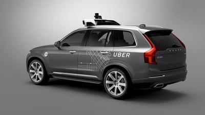 Uber self driving