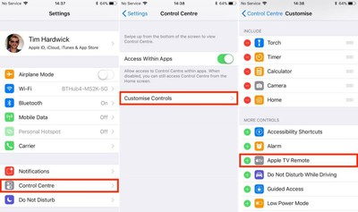 Apple TV Remote iOS 1
