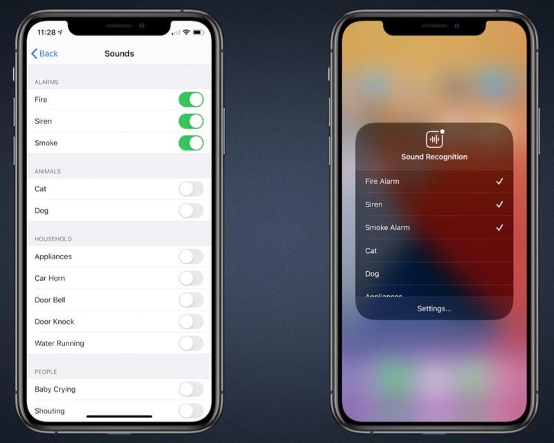 قابلیت تشخیص صدا در iOS 14