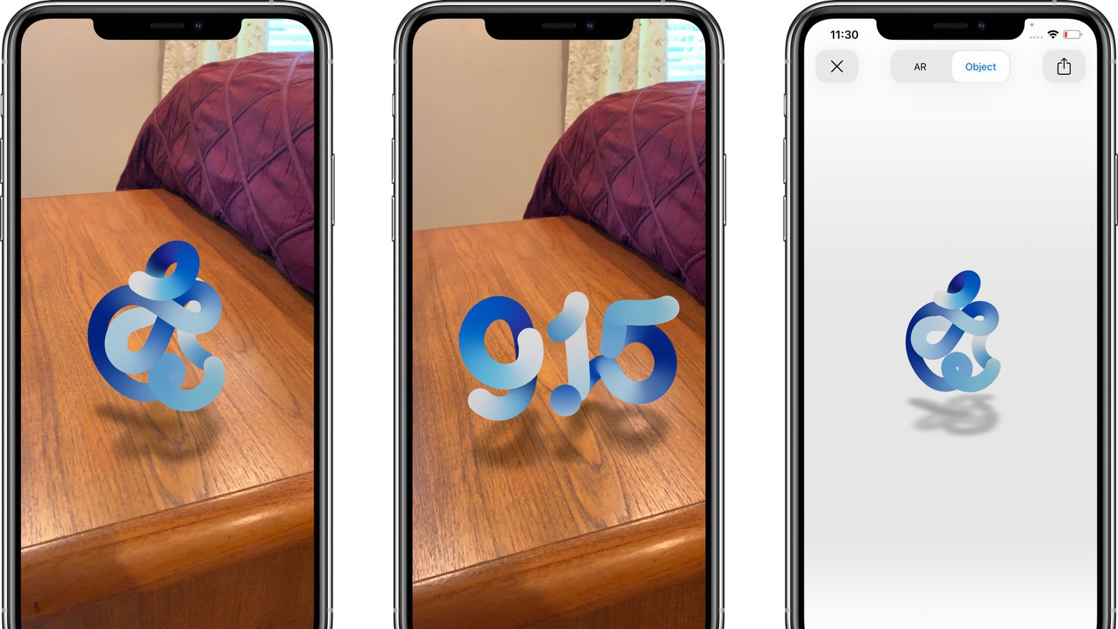 Apple S September 15 Event Page Includes Morphing Ar Logo Macrumors