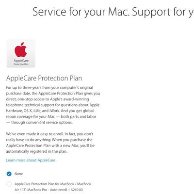 applecare no one to one