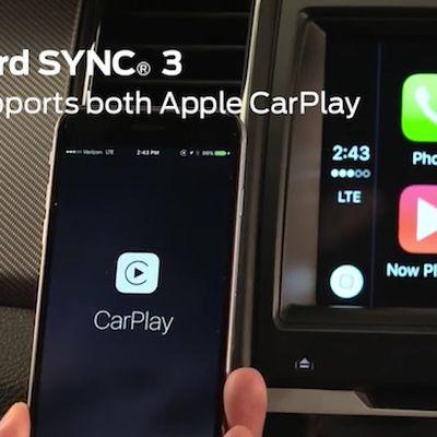 Ford SYNC 3 CarPlay