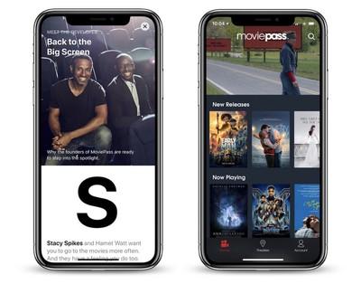 moviepass iphone x