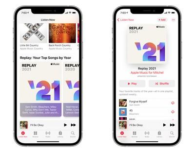 apple music replay 2021