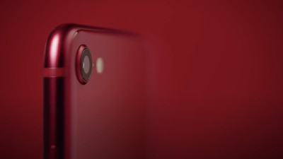 2020 iphone se camera red