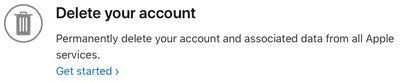 delete get started