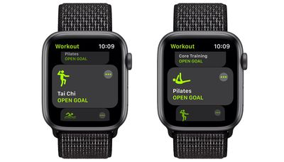 watchos 8 workout app