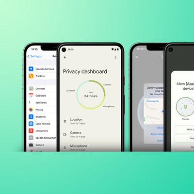 Android 12 vs iOS 14 Feature